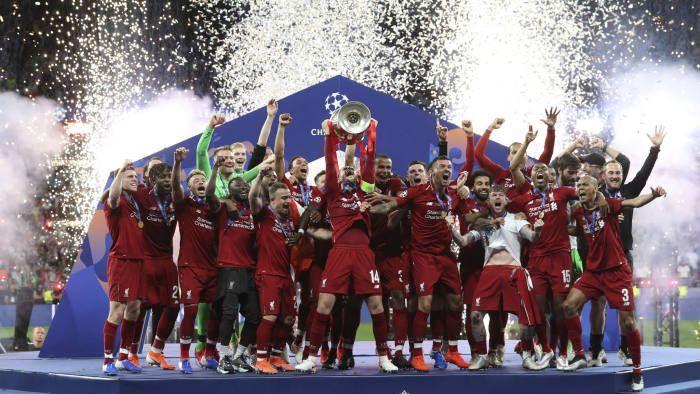 2018-19 winners Liverpool