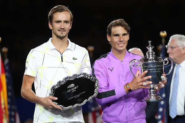 Nadal beat Medvedev in the 2019 US Open final for his 19th Grand Slam title