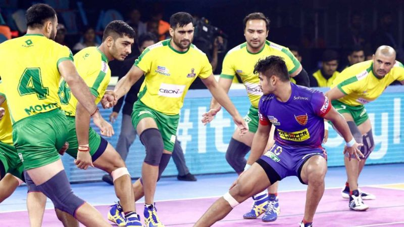 Naveen scored 17 points against Tamil Thalaivas