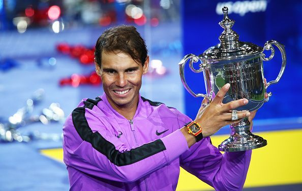 2019 US Open champion- Rafael Nadal