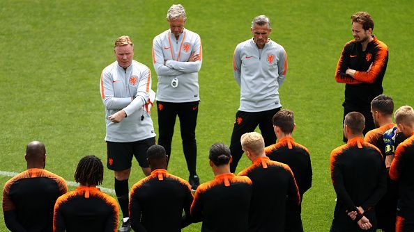 Ronald Koeman has the reins of resurgent Netherlands team