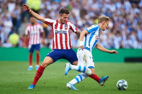 Real Sociedad inflicted Atletico Madrid's first loss of this La Liga campaign