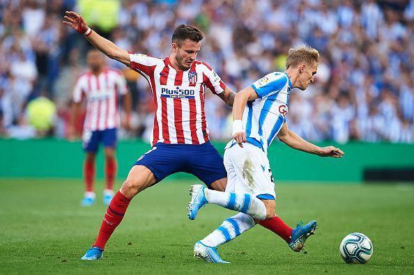 Real Sociedad inflicted Atletico Madrid