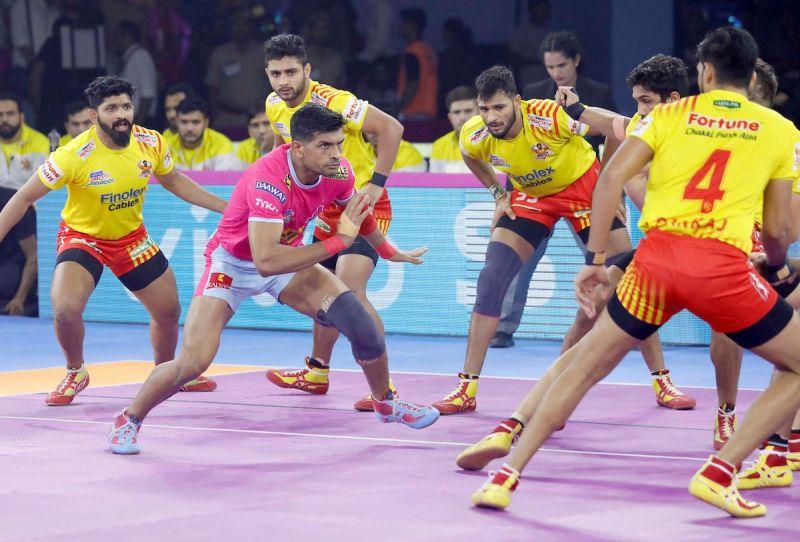 होम लेग में जयपुर का पहला मैच टाई