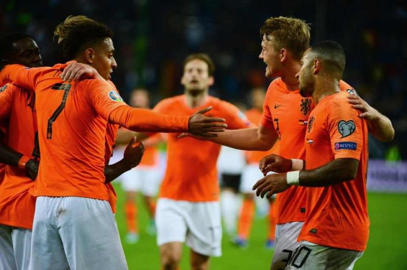 Netherlands stuck four goals past Germany