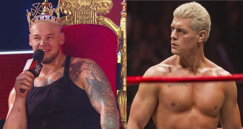 King Corbin and Cody Rhodes