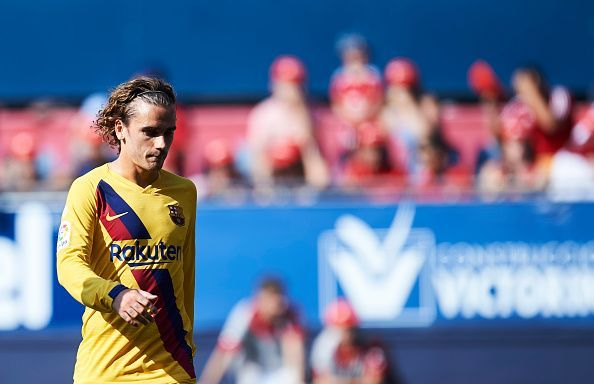 Griezmann would hope to give Barcelona the impetus they need