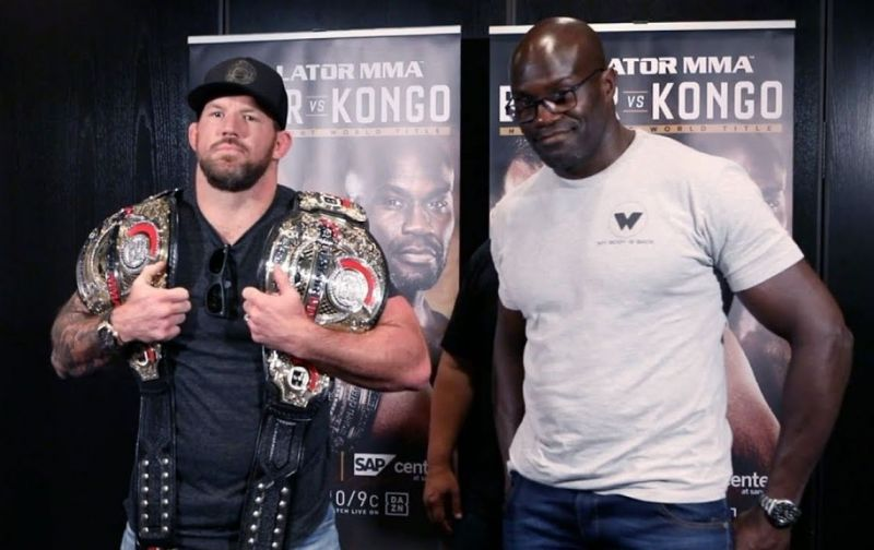 Ryan Bader vs Cheick Kongo will be the main event for Bellator 226
