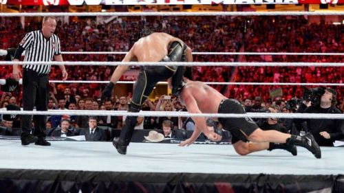 Image result for seth rollins curb stomp
