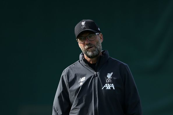 Jurgen Klopp will be looking to bounce back from the midweek defeat against Napoli