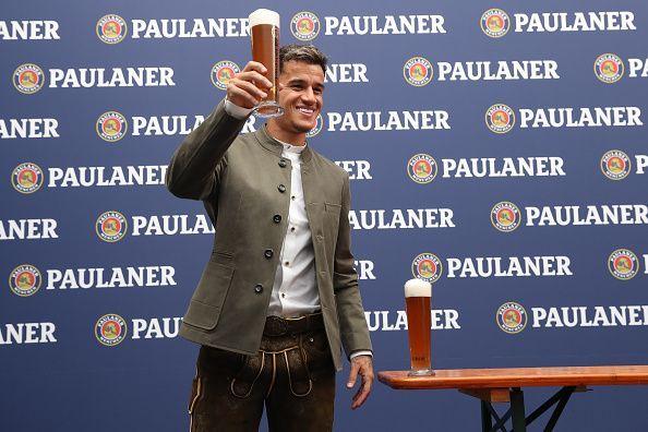Coutinho has reasons to celebrate.