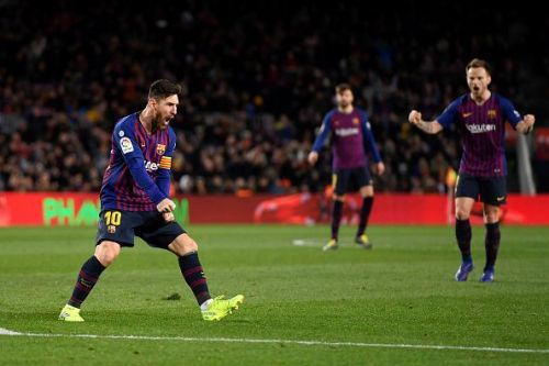Lionel Messi was the star of the show