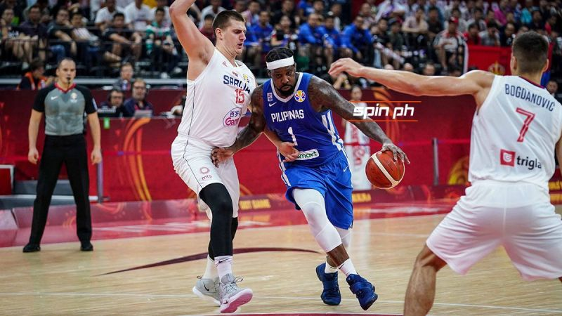 Blatche being defended by Jokic (Photo from spin.ph)