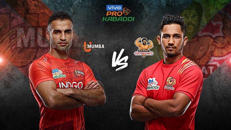 U Mumba look to make it 2-0 against Gujarat Fortune Giants this season.