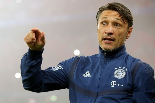 Niko Kovac will not feel the pressure of being behind Dortmund and RB Leipzig just yet