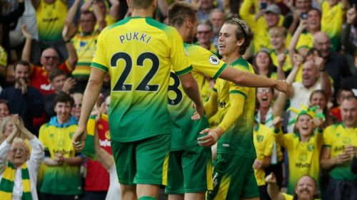 Norwich stunned champions Manchester City during an action-packed 3-2 home win on Saturday evening
