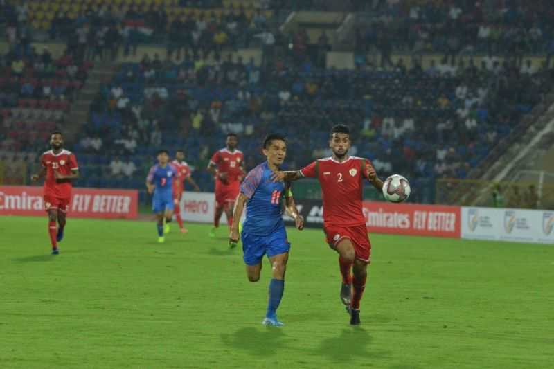 Oman pipped India in their opening FIFA World Cup Qualifiers clash as Sunil Chhetri