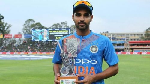 Bhuvneshwar Kumar is the only player to take a five-wicket haul in India vs South Africa T20s