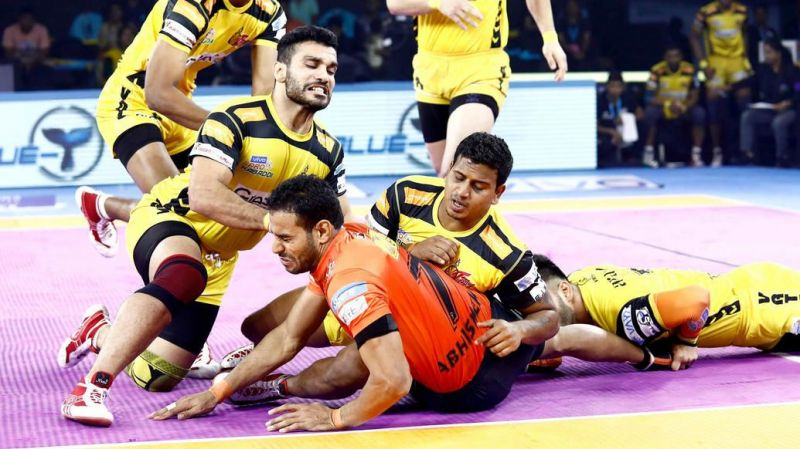 Can the Telugu Titans pull off a win?