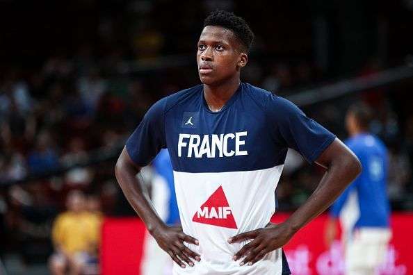 Frank Ntilikina has enjoyed a breakout tournament with France at the World Cup