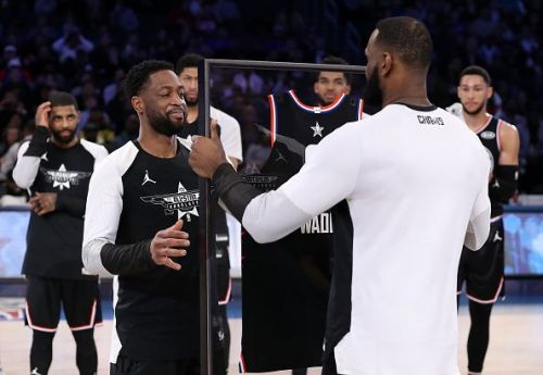 Dwyane Wade has hinted that he could be open to making an NBA return
