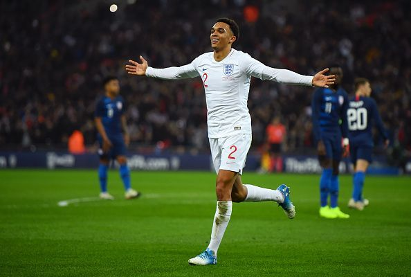 Is Trent Alexander-Arnold now England