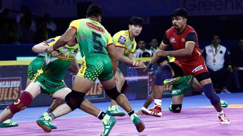 Bengaluru Bulls will look for their second win against Patna Pirates this season.