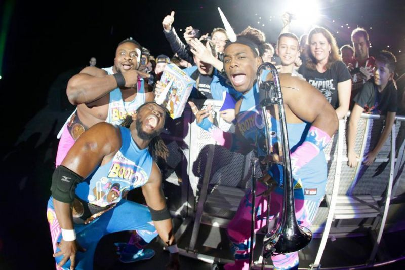 The New Day are very over with the fans