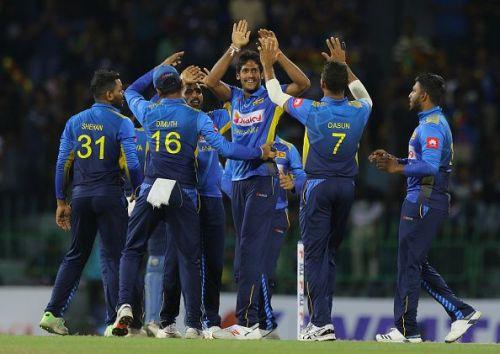 श्रीलंका की वनडे एवं टी20 टीम का ऐलान