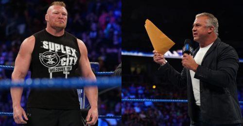 Lesnar returns; Shane gets served