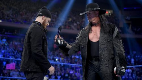 Sami Zayn was successful in getting The Undertaker out of the ring, but only after paying a huge price