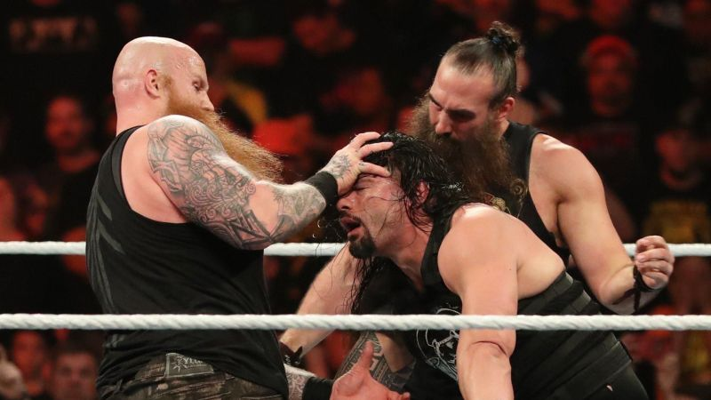 Roman Reigns received a bludgeoning