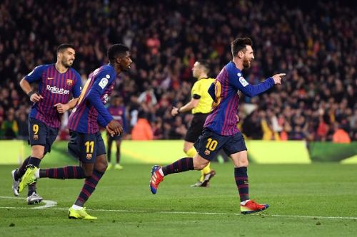 The Catalans continue to hunt for their first Champions League triumph since 2015