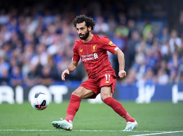 Salah enjoyed another prolific year with Liverpool