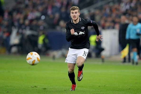 Timo Werner has scored 5 goals for RB Leipzig already this season