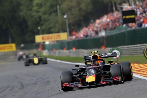Grand Prix of Belgium- where Alex Albon finished P5