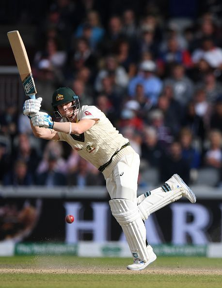 Steve Smith in action during the 4th Test