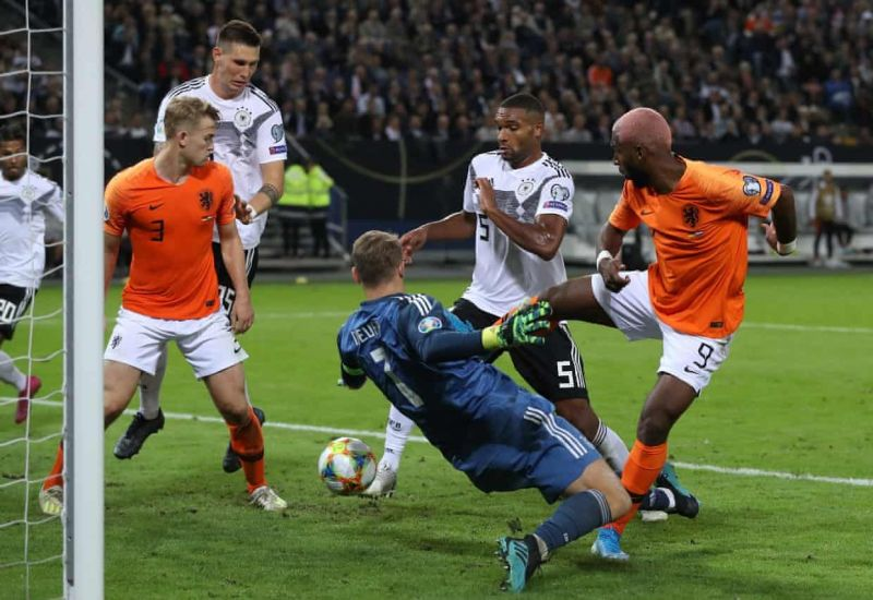 Jonathan Tah was culpable for Netherlands