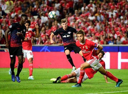 Werner's double helped gun down Benfica