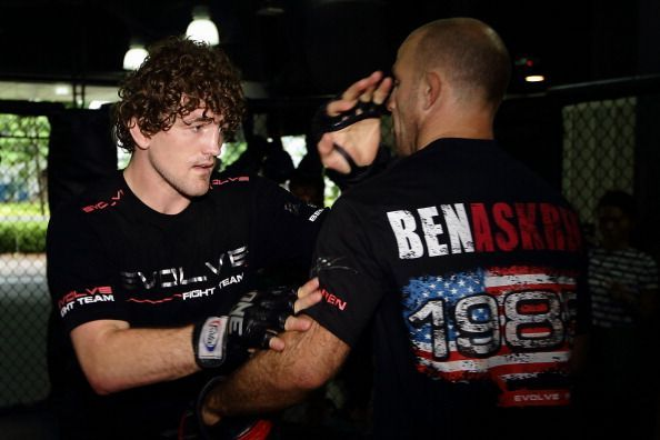 Ben Askren Media Workout