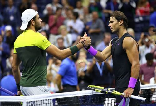 Berrettini lost to Nadal in the US Open semifinal
