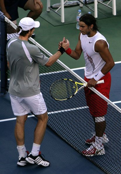 Nadal lost to Murray in his first US Open semifinal