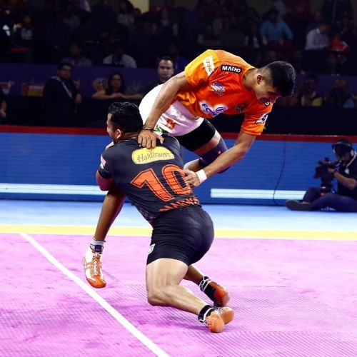 Sandeep Narwal had a decent outing.