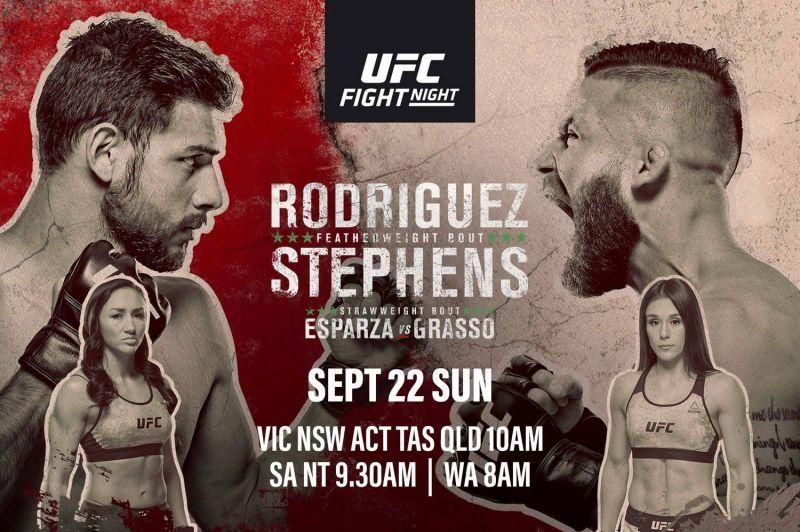 UFC Fight Night ESPN+ 17