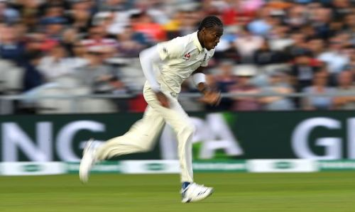 Jofra Archer's spell to Smith made for quite the spectacle