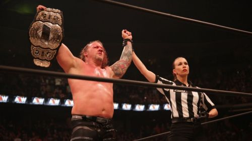 Jericho became the very first AEW World Heavyweight Champion at All Out.