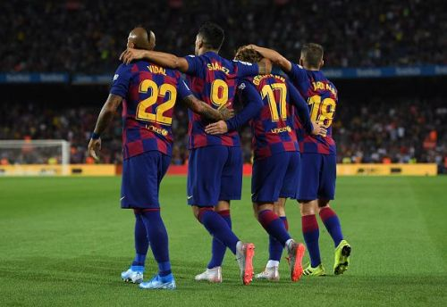 FC Barcelona last time out against Valencia