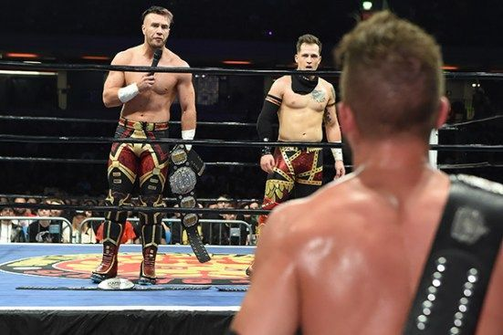 Ospreay and Eagles are the talk of the town