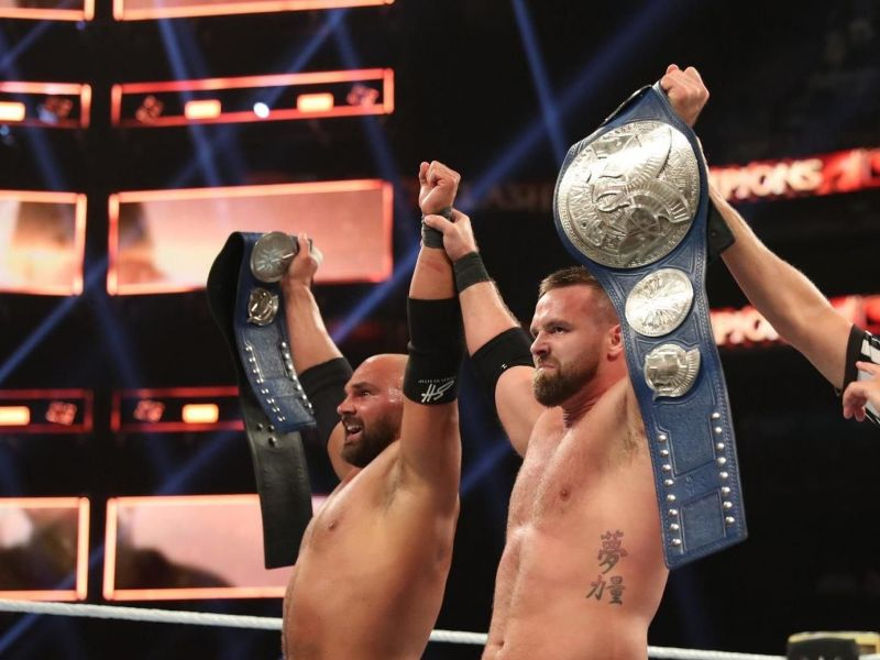 The Revival are now Triple Crown Tag Team Champions