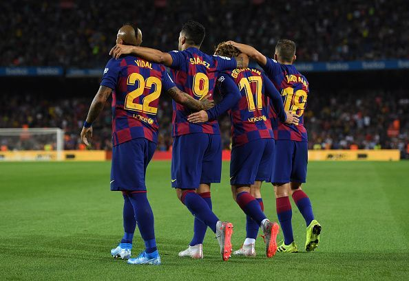 FC Barcelona cruised to victory